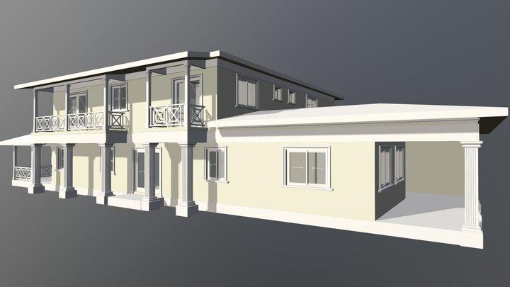 Nabbie Town House 3D Model