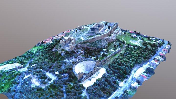 Acropolis 3D Model