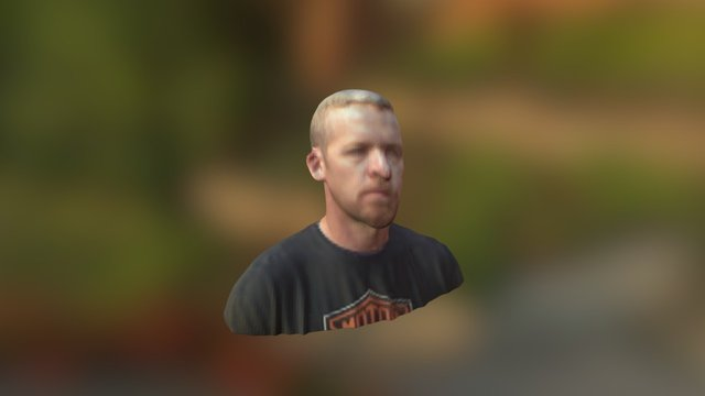 Aaron Kinect scan test 3D Model