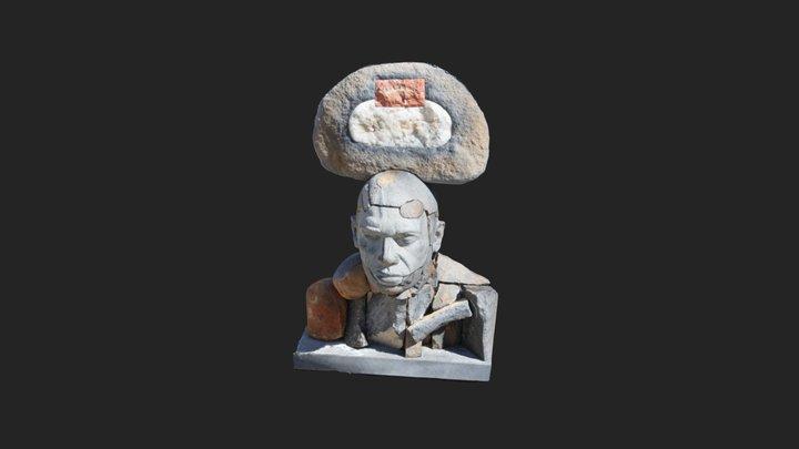 Cold Face 3D Model