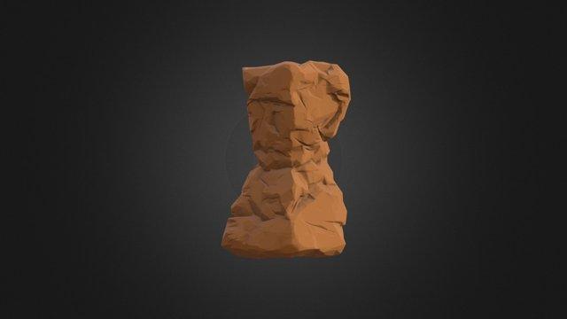 Rock Pillar1 LP 3D Model