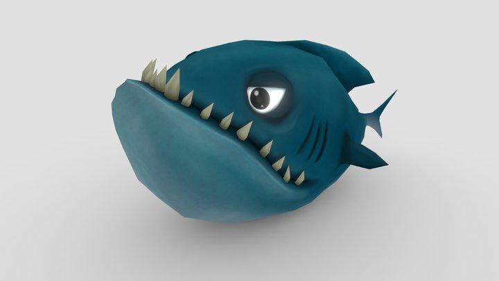 Big Fish 3D Model