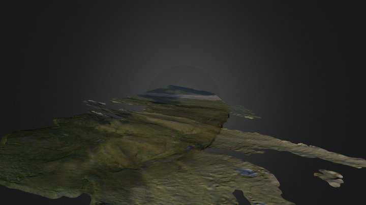 Ched Scarp Pass 1 Draft 3D Model