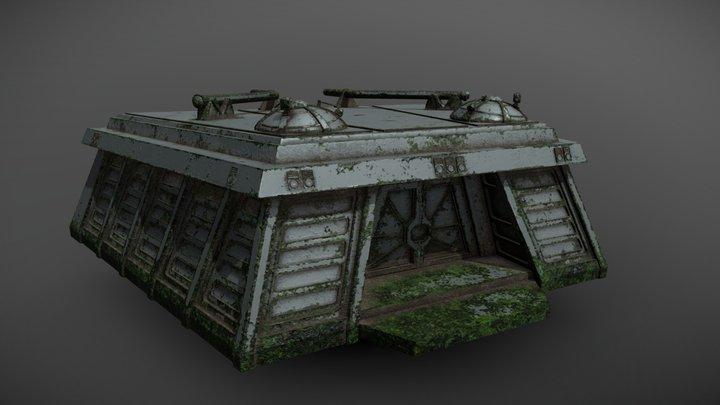 Star Wars Endor Bunker 3D Model