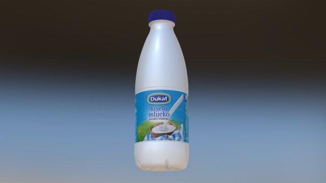 milk bottle test 3D Model