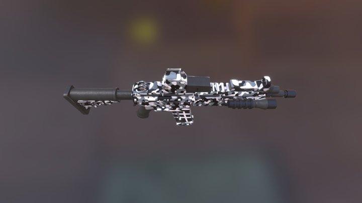 M416 3D Model