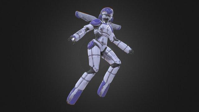 Sylia 3D Model