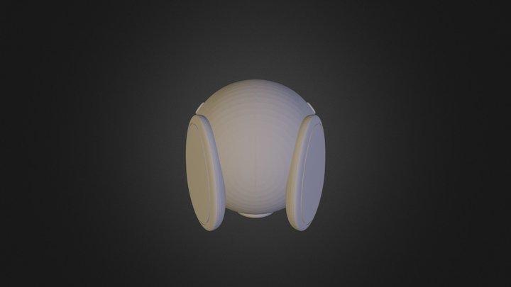 Head1c 3D Model