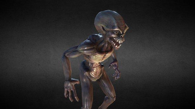 Alien Demon Thing 3D Model