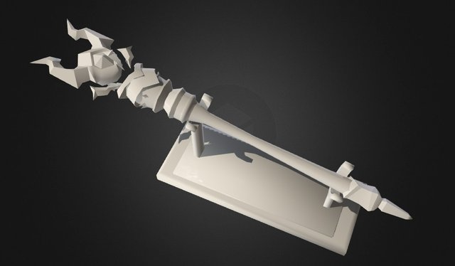 Stick From World Of Warcraft 3D Model