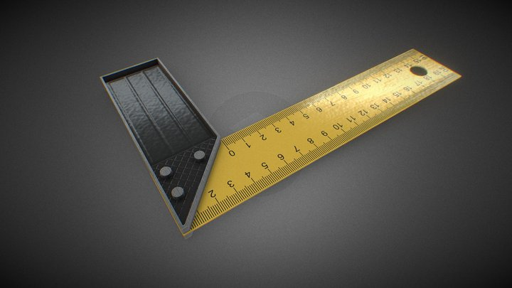 Try Square 3D Model