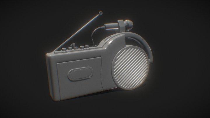 Sony CFM-2300 | Radio 3D Model