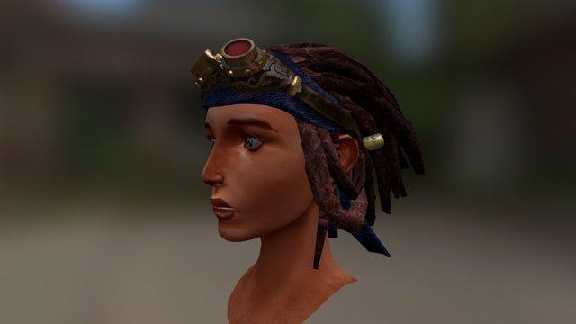 Bohemian Dreads 3D Model