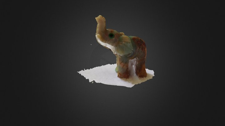 Slonik 3D Model
