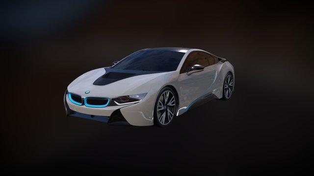BMW_i8 3D Model