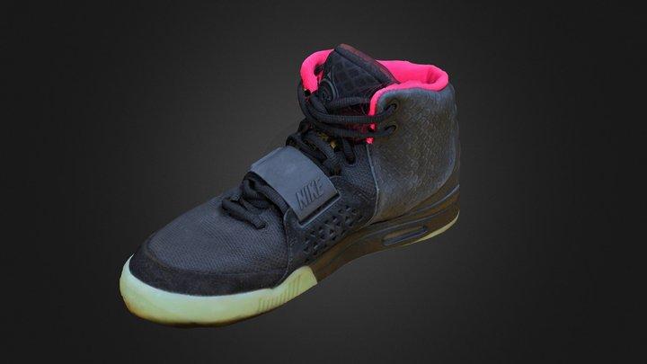 Nike Air Yeezy II 3D Model