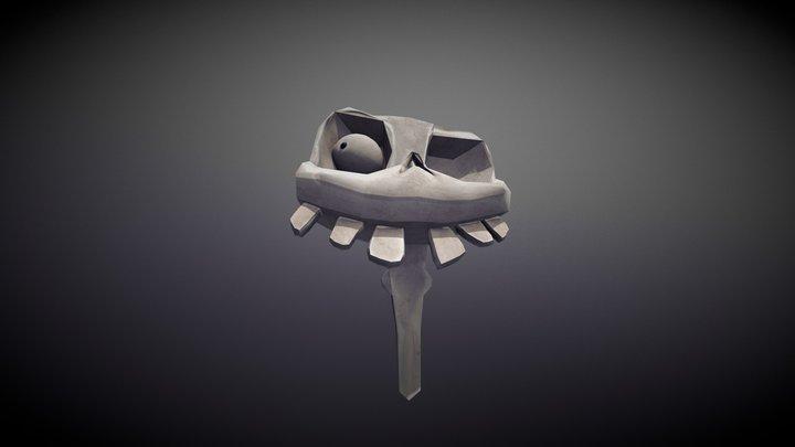 Skull Daniel 3D Model