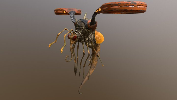 Insect_Substance Painter 3D Model