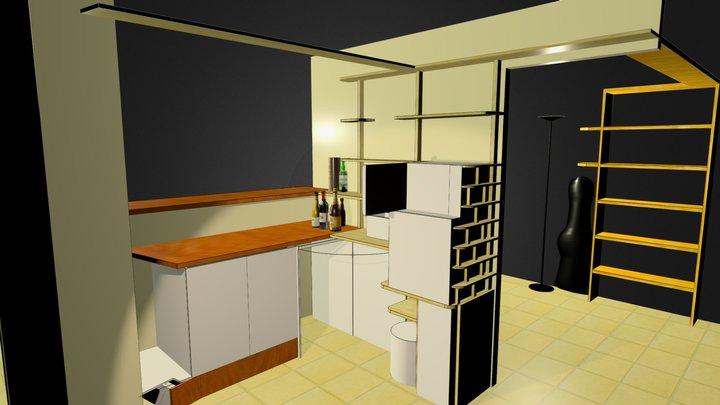 cuisine salon 2 3D Model