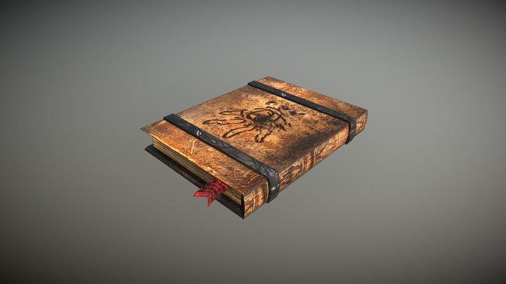 Spellbook 3D Model