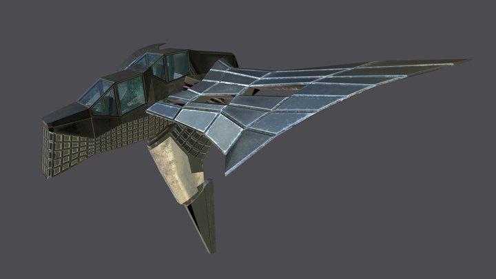 Gunship/Bomber 3D Model
