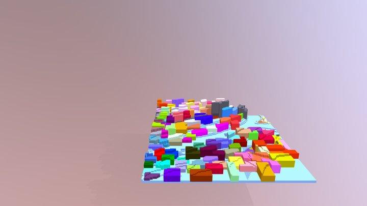 Voxel Hatrı 3D Model