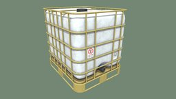 Water Tank 1000l 3D Model