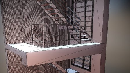 Stair-export 3D Model