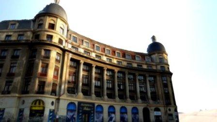 Building from University Square Bucharest 3D Model