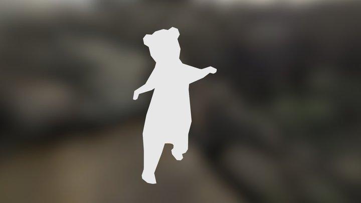 Dancing Bear 3D Model