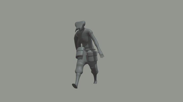 Jerberd Walk 3D Model