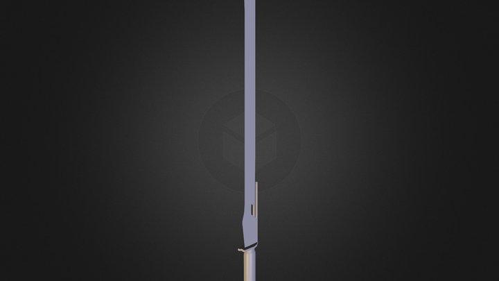Eternal - Sword 3D Model