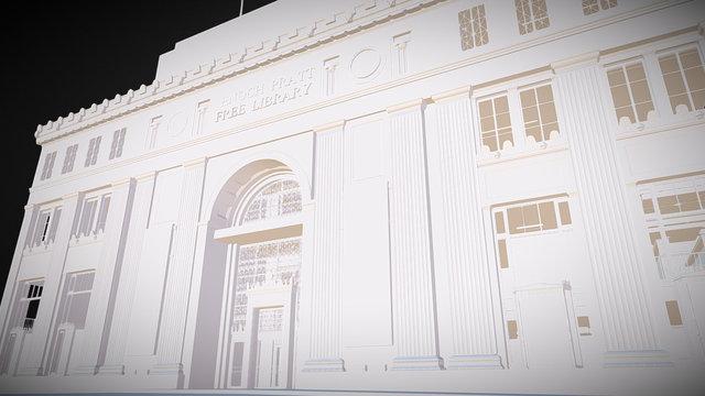 Enoch Pratt Free Library Lobby - Baltimore, MD 3D Model