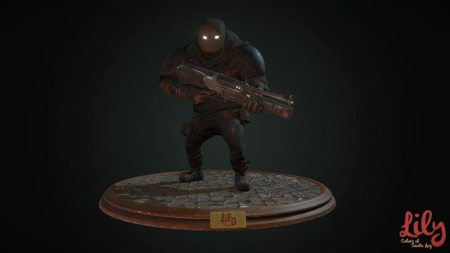 The Cruzados 3D Model