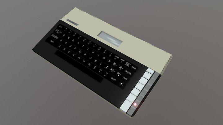 Atari 800 XL 3D Model