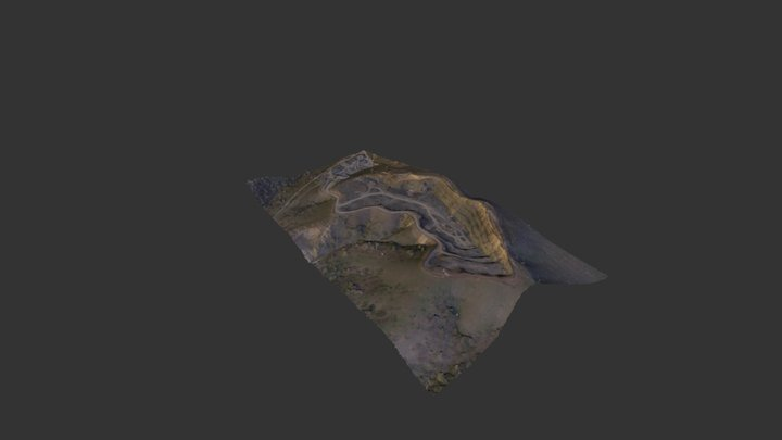 Quarry in Tulcea Romania 3D Model