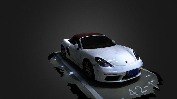 Porsche 718 3D Model