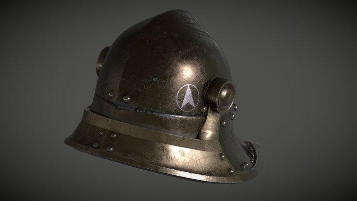 helmet tmp 3D Model