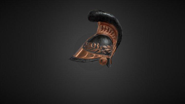 Napoleonic Helmet 3D Model
