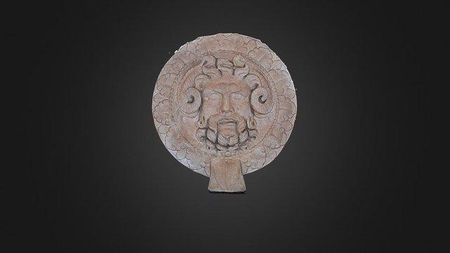 Oscillum con testa di Giove Ammone - Verona 3D Model