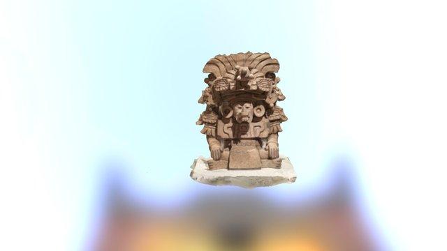 Funerary Urn 3D Model