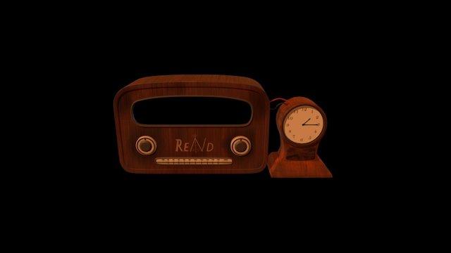 GGJ 2017 - Radio 3D Model
