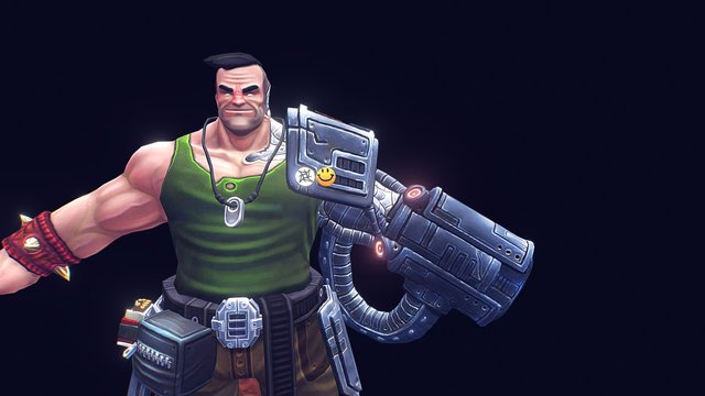 Heavy Arm 3D Model