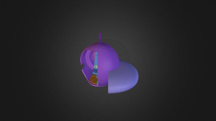 seaMoth_hp_interior 3D Model