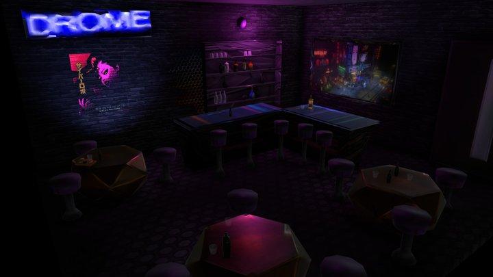The Drome Bar v3.1 3D Model