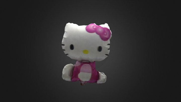 Hello Kitty 3D Model