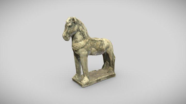Figurine de cheval harnaché, Arch.145 3D Model