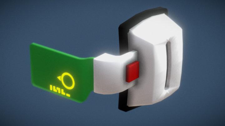 Scouter 3D Model