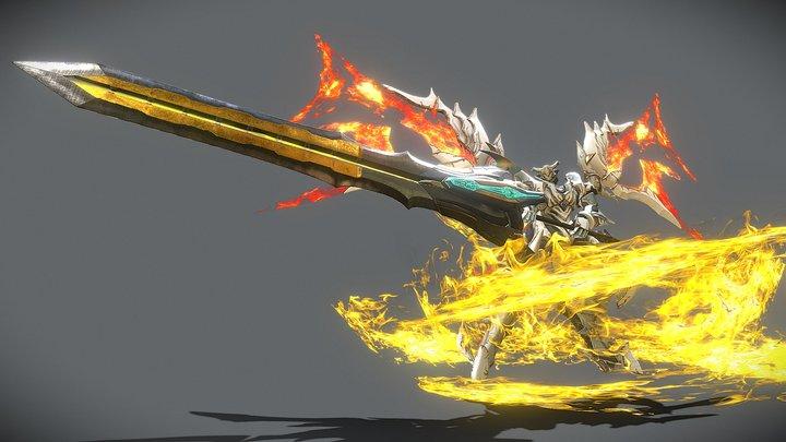 Knight of punishment 3D Model