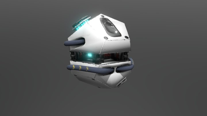 Grenade Teleporte 3D Model